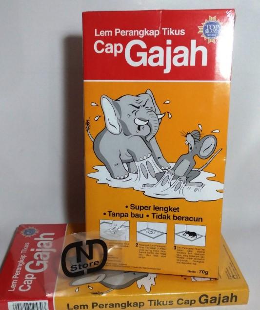 Lem Tikus Cap Gajah 8